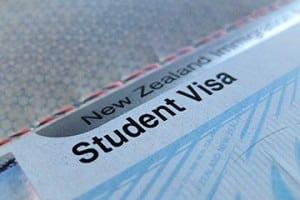 New Zealand student visa.