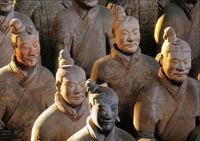 Terracotta Warriors.