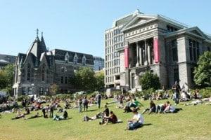 Canada university campus.