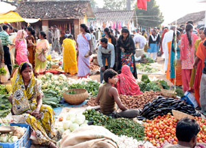 Indian market.