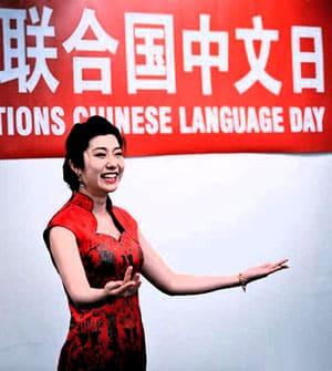 Chinese language training.