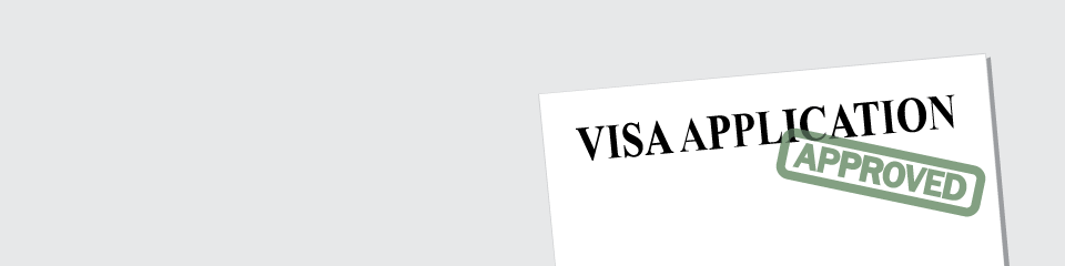 International student visa application: approved.