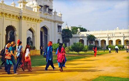 University of Hyderabad.