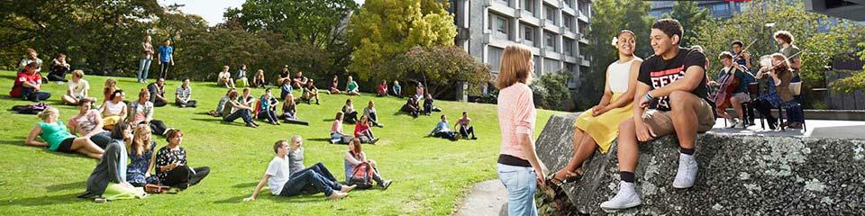 Canterbury University students.