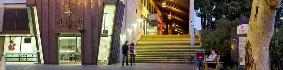 Murdoch University campus in Western Australia.