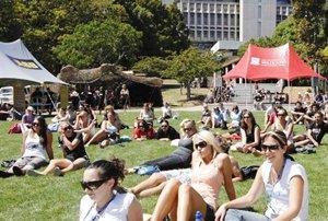 Waikato University students.